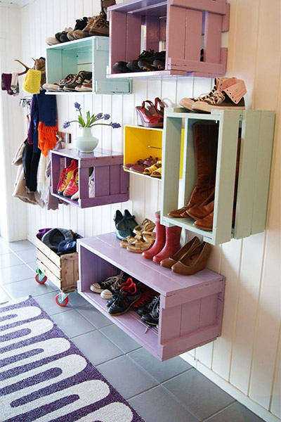 7 creatieve schoenenopbergers (die jij zelf kunt maken!) | brico