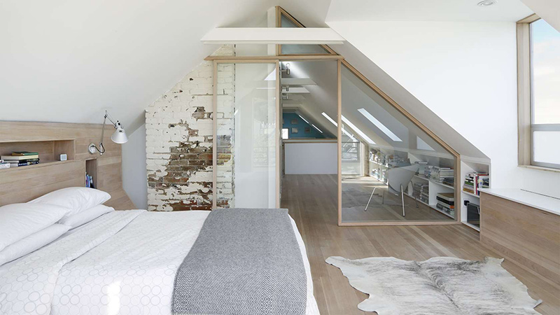 Slaapkamer 1 Kamer Woning. Medium Size Of Modern Interieur Luxe ...