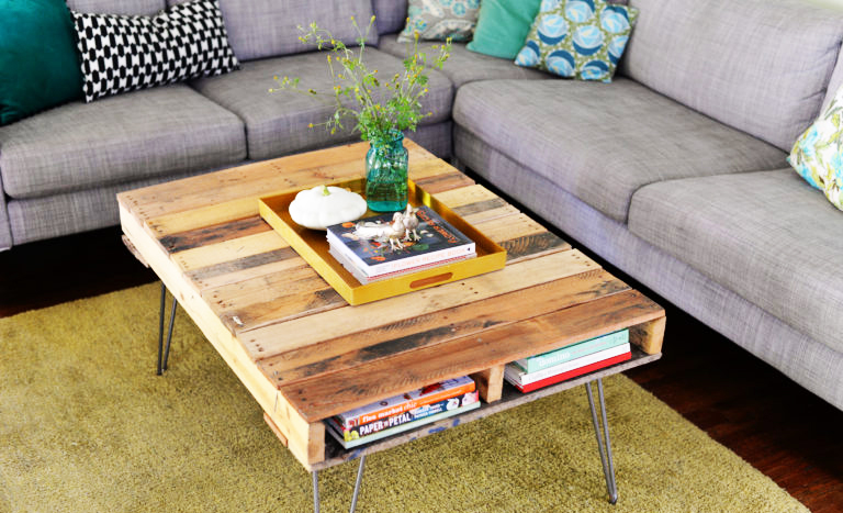 Huis Mooi Maken : 6 toffe dingen die je in huis maakt van steigerhout brico voor