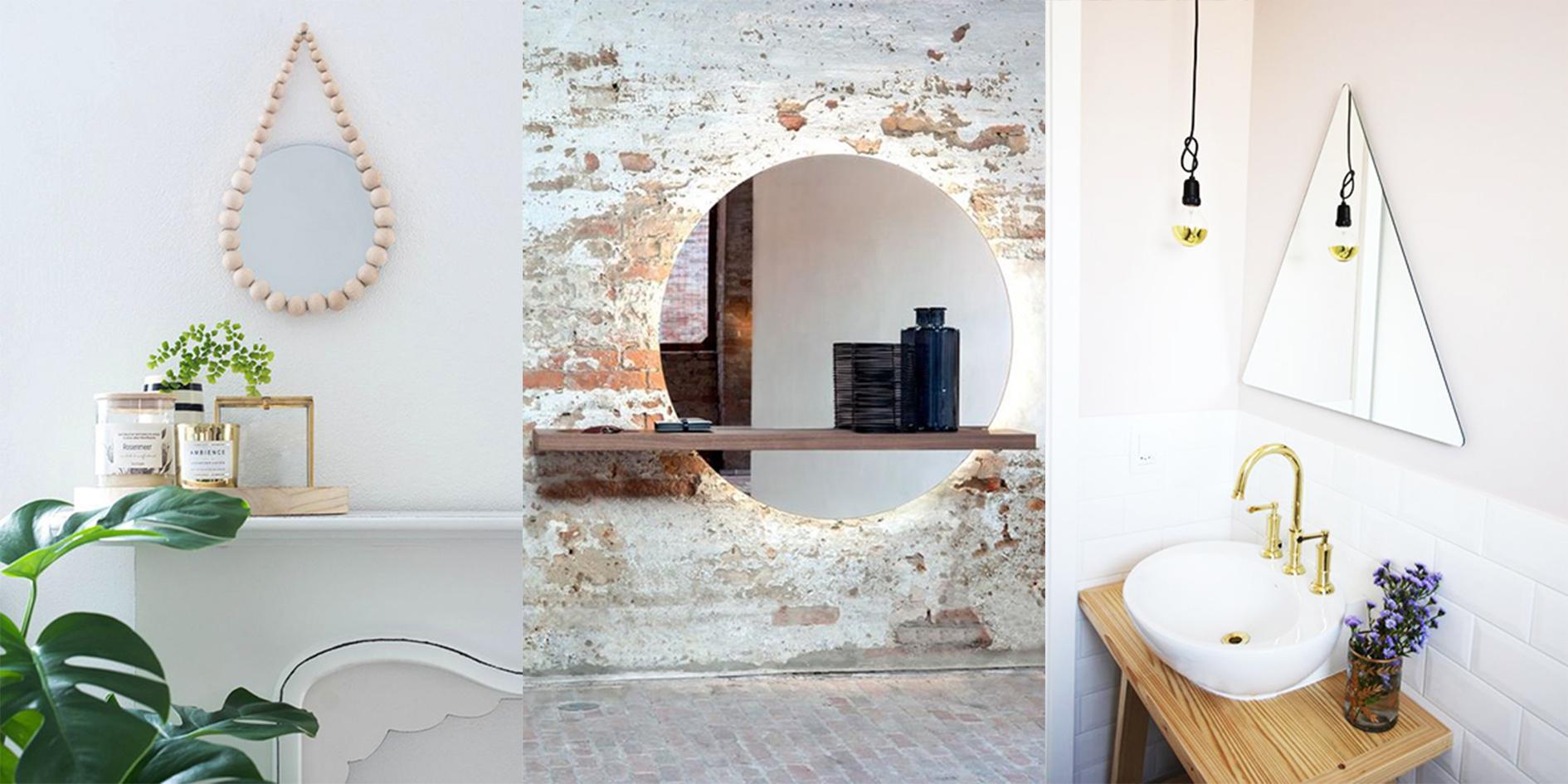 Top 8 originele spiegels voor je interieur for Interieur decoratie eigentijds huis