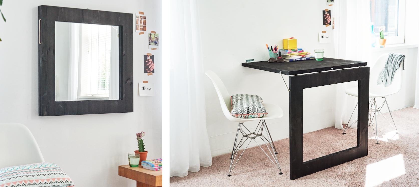 Originele badkamer spiegel ontwerp inspiratie voor uw badkamer meubels thuis - Meubels originele badkamer ...