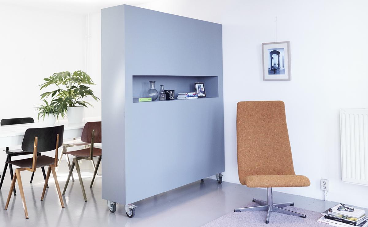 Roomdevider In Woonkamer : Kast woonkamer wit beste van kast bureau als roomdivider vtwonen