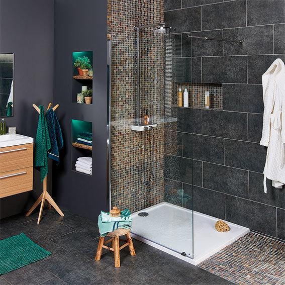Folder brico d couvrez le catalogue for Construire douche italienne