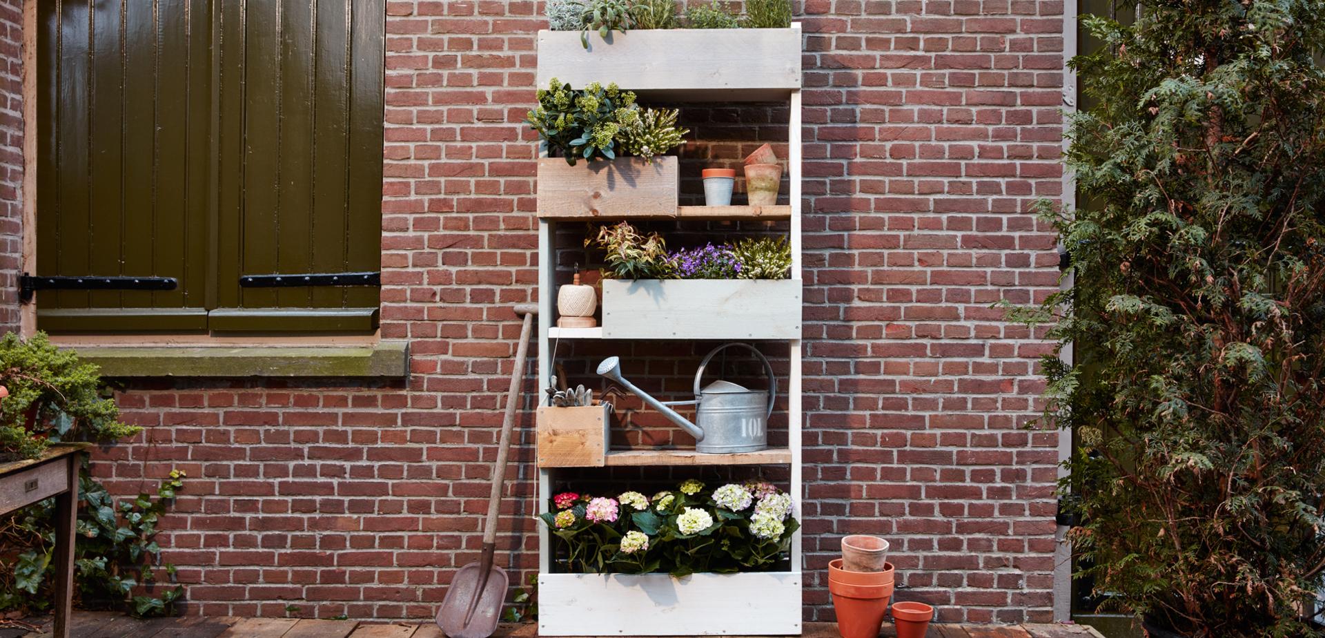 Maak een verticale tuin voor de makers - Maak een eigentijdse tuin aan ...