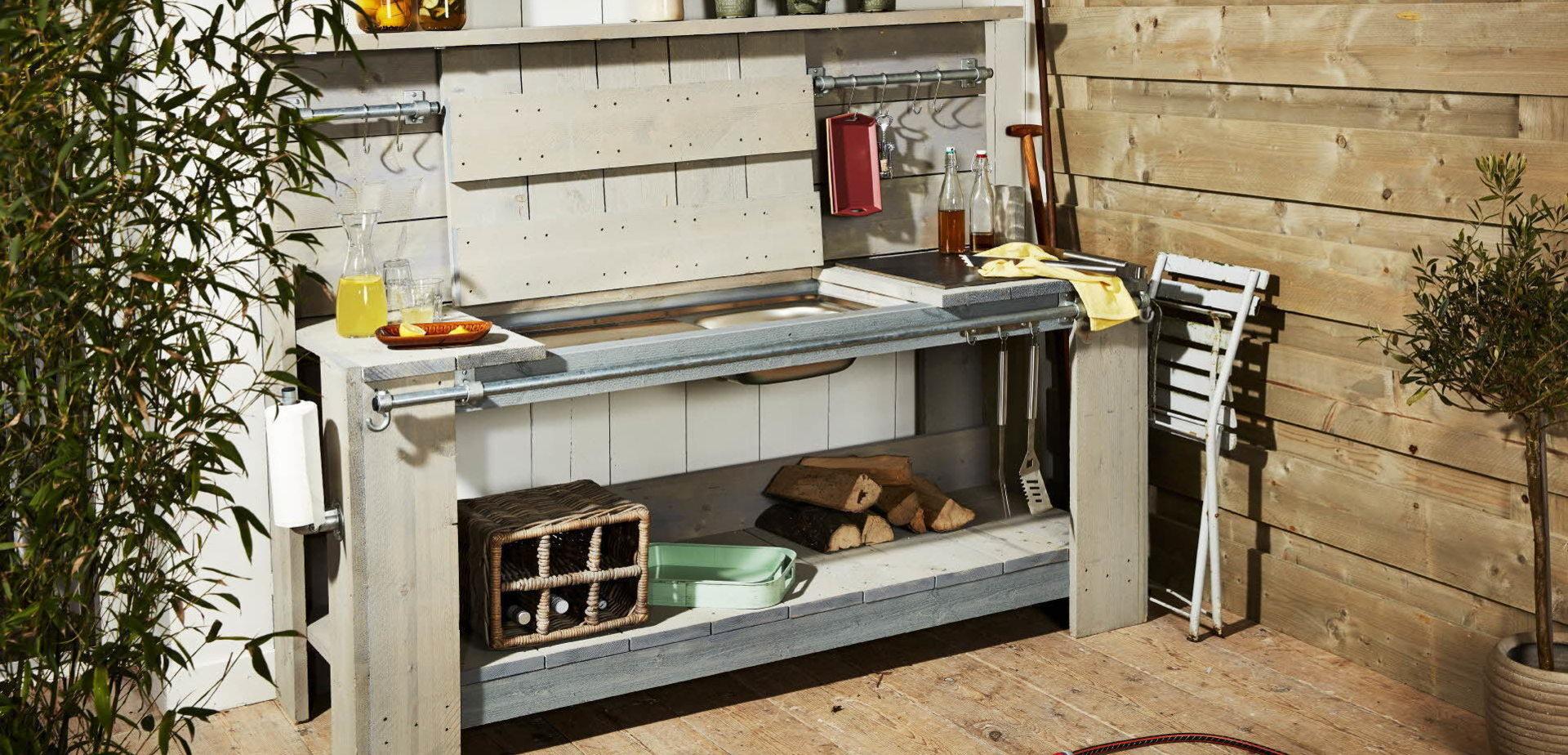 Buitenkeuken maken - Voor de makers