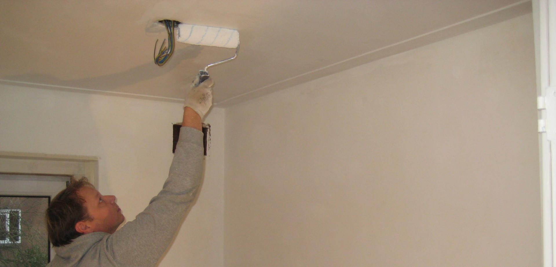 Peindre un plafond pour les makers for Peindre un grand plafond