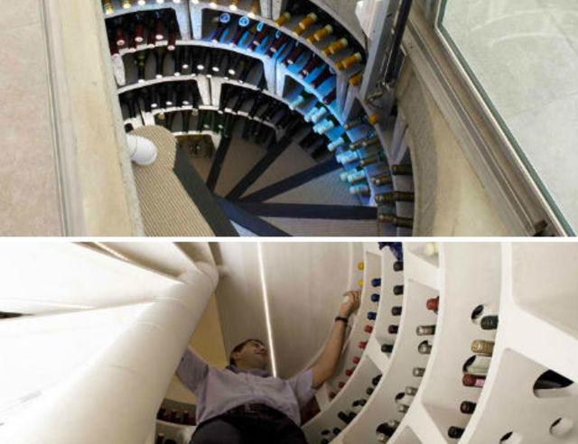 Une cave vins qui ne prend pas de place pour les makers for Chaise qui ne prend pas de place