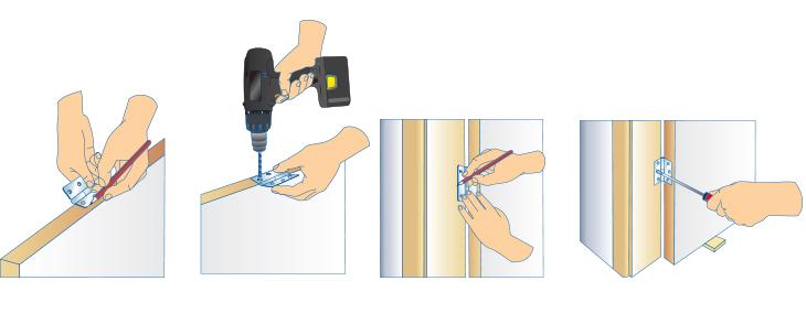 Placer une porte pour les makers - Comment remettre une porte dans ses gonds ...