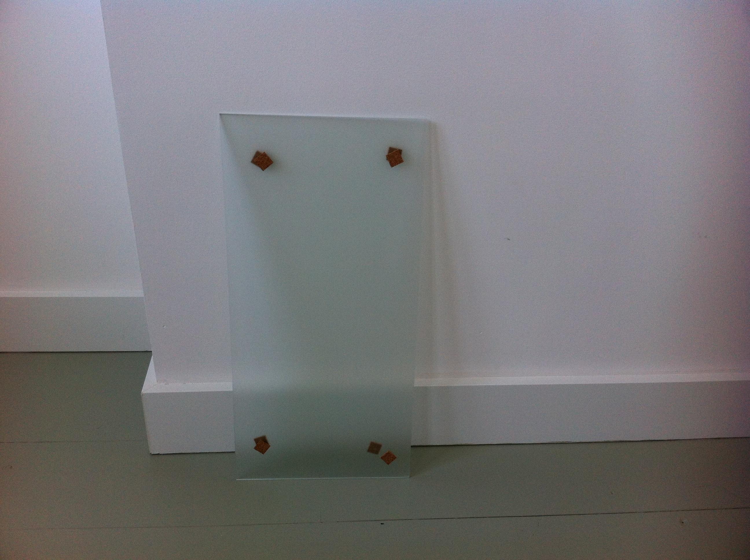 Mettre une vitre dans une porte intérieure   pour les makers