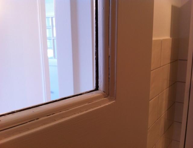 Mettre une vitre dans une porte int rieure pour les makers for Vitrage pour porte interieure
